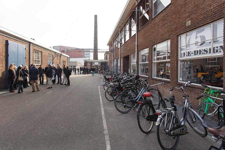 De Nieuwe Stad, Amersfoort. Op 23 maart 2015 kreeg het huidige H-team het stokje overgedragen. Foto: Joost Enkelaar