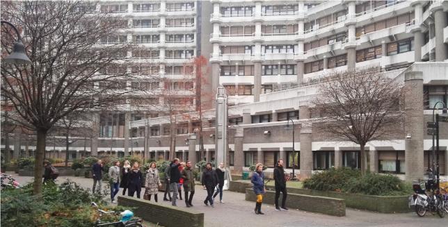 Excursie langs het ministerie van Buitenlandse zaken