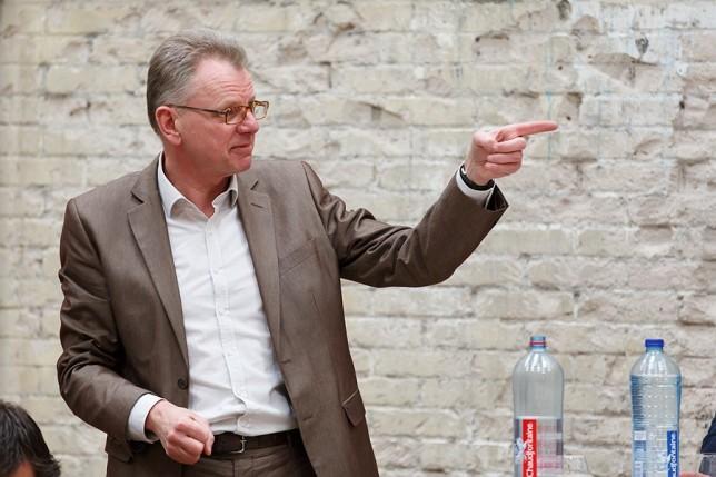 Friso de Zeeuw in debat in De Nieuwe Stad.