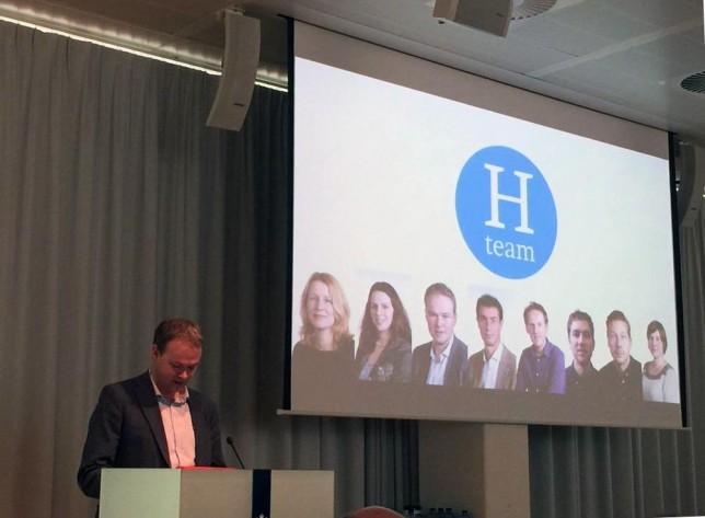 Gerben van Dijk introduceert nieuw H-team