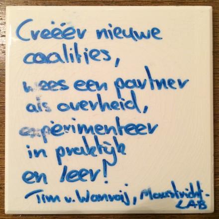 tegeltjeswijsheid Tim van Wanroij